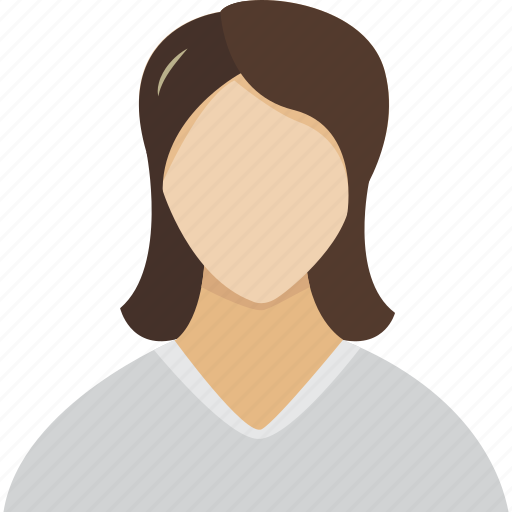 avatar, female, girl, gray, human, lady, login, people, peoples, profile, register, user, users, woman, women icon