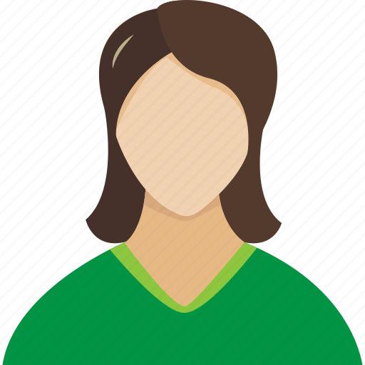face, faces, girl, green, human, login, profile, user, users, woman, women icon