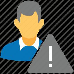 ban, black list, client list, risk management, trouble, user problem, warning icon