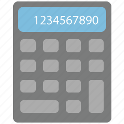 calc, calculate, calculator, count, math, number, taxes icon