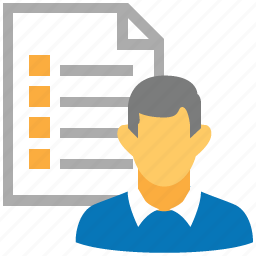 bulk list, client, client list, clients, customer list, document, user list icon