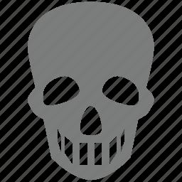 danger, dead, death, pirate, poison, skull, toxic icon