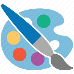 artist, draw, drawing, paint tools, painter, palette, photoshop icon