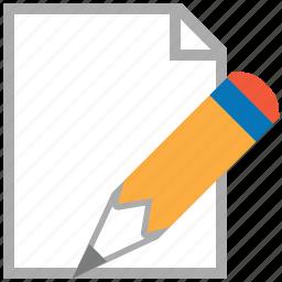change, edit, modify, pen, pencil, signature, write icon