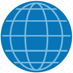 browser, earth, globe, internet, map, planet, world icon