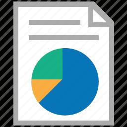 data, graph, market, pie chart, report, sales, statistics icon