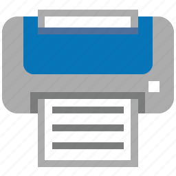 device, hardware, office, print, printer, printing, publish icon