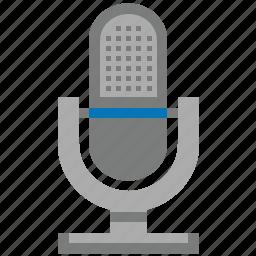audio, karaoke, microphone, record, sound, speaker, volume icon