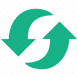 arrows, refresh, reload, renew, repeat, sync, update icon