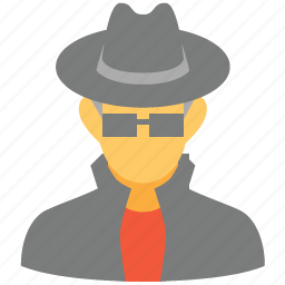 agent, cia, fbi, hacker, killer, profile, spy icon