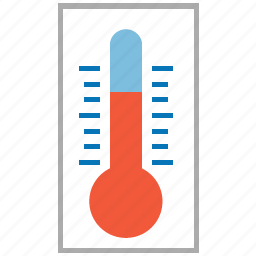 cold, cool, hot, meter, temperature, warm, weather icon