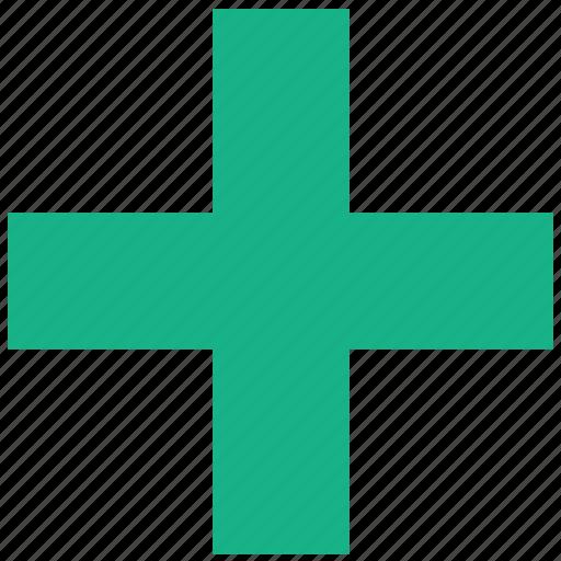 add, cross, health, hospital, medical, new, plus icon