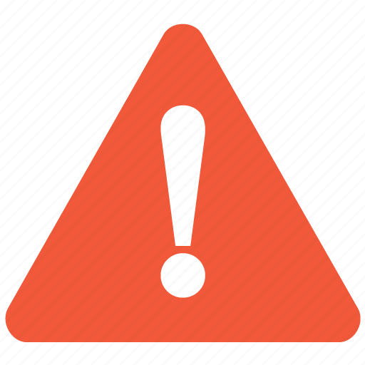 alert, damage, danger, error, exclamation, problem, warning icon
