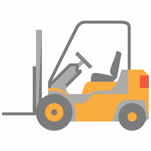 fork-lift, forklift, storage, transport, transportation, truck, warehouse icon