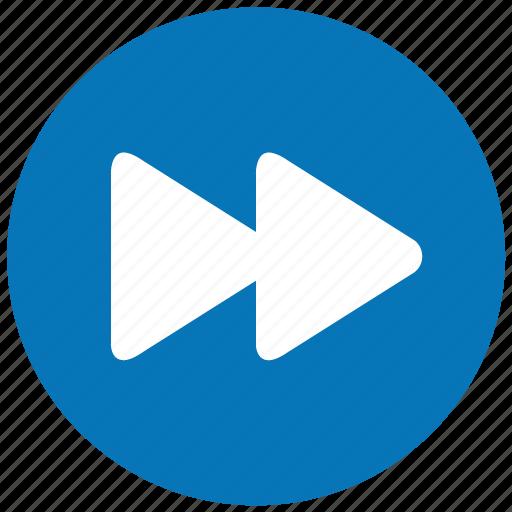 arrow, fast, forward, rewind, right, shift, track icon
