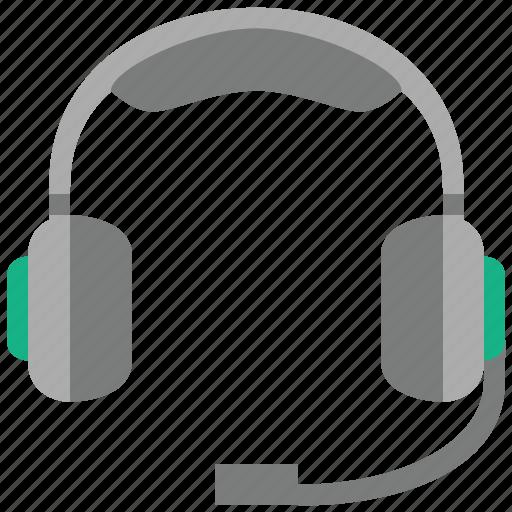 head set, head-set, headphone, headset, operator, support, tools icon
