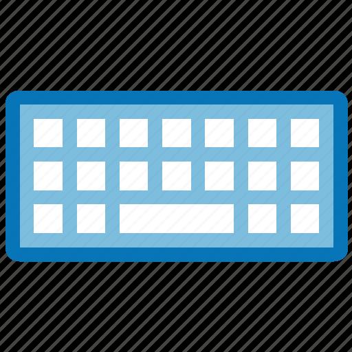 device, hardware, input, keypad, keys, pad, wireless keyboard icon