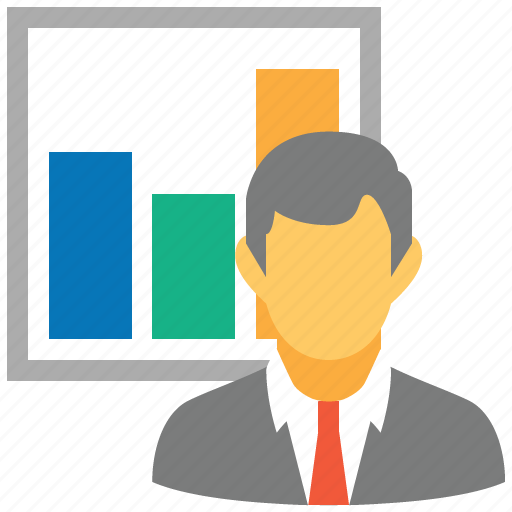 business, charts, diagram, logistic, logistics, presentation, report icon