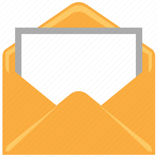 email, letter, mail, open, open mail, open message, read message icon