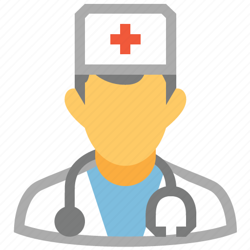 doctor, first-aid man, health, hospital, medic, orderly, paramedic icon