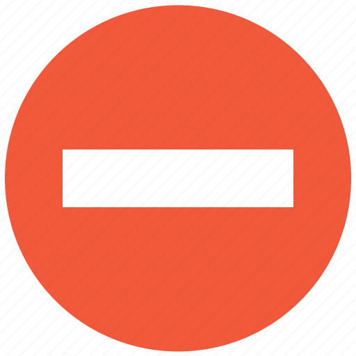 closed, forbidden, no entry, private, restricted, stop, stop sign icon