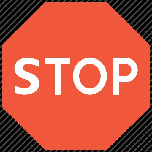cancel, danger, forbidden, no, road signs, stop, terminate icon
