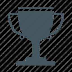 achievement, award, cup, medal, trophy, win, winner icon