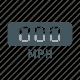 measurement, meter, mph, speed, timer, widget, widgets icon