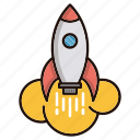 boost, launch, performance, speed, startup icon