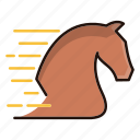 fast, horse, performance, power, speed icon