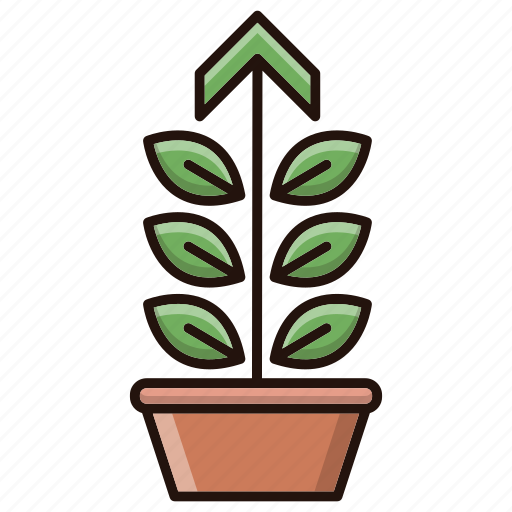 Growth, investments, performance, plant icon - Download on Iconfinder