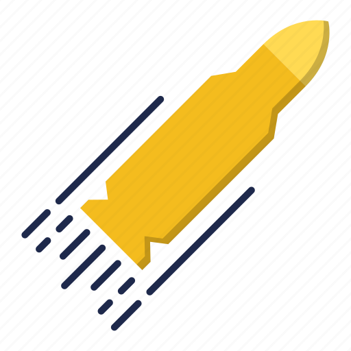 bullet, military, performance, target, weapon icon