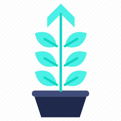 environment, green, growth, investments, performance, plant icon