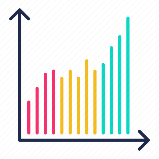 chart, growth, increase, performance, statistics icon