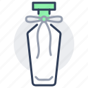 perfume, bottle, bow, design, vintage