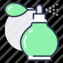perfume, bottle, retro, spray, glass, cologne