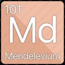 atom, atomic, element, mendelevium, periodic, periodic table icon