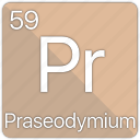 atom, atomic, element, periodic, periodic table, praseodymium icon