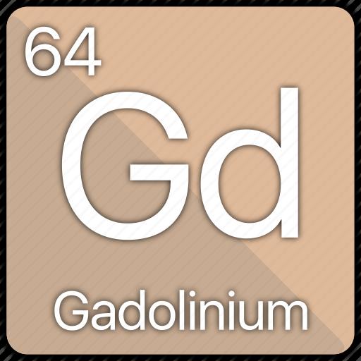 atom, atomic, element, gadolinium, periodic, periodic table icon