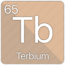 atom, atomic, element, periodic, periodic table, terbium icon