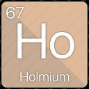 atom, atomic, element, holmium, periodic, periodic table icon