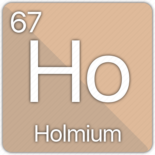 atom, atomic, element, holmium, periodic, periodic table icon