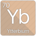 atom, atomic, element, periodic, periodic table, ytterbium icon