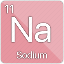 alkali, atomic, element, metal, periodic table, sodium icon