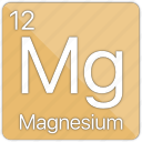 alkaline, atomic, element, magnesium, metal, periodic table icon