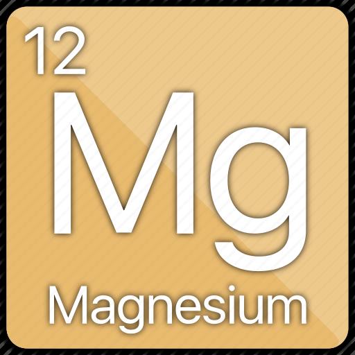 alkaline, atomic, element, magnesium, metal, periodic table icon