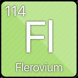 atom, atomic, basic-metal, element, flerovium, periodic table icon