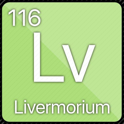 atom, atomic, basic-metal, element, livermorium, periodic table icon