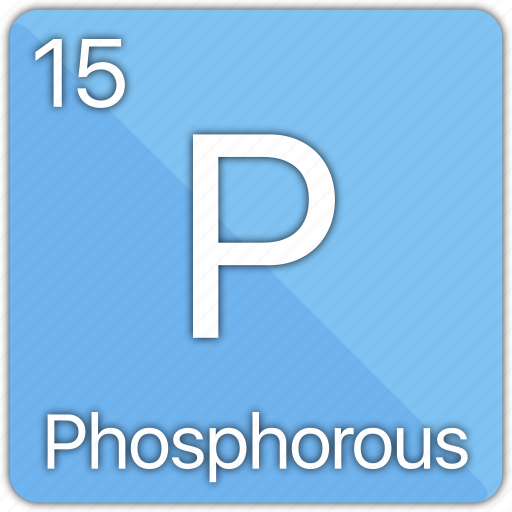 atom, atomic, element, gas, non-metal, periodic table, phosphorous icon