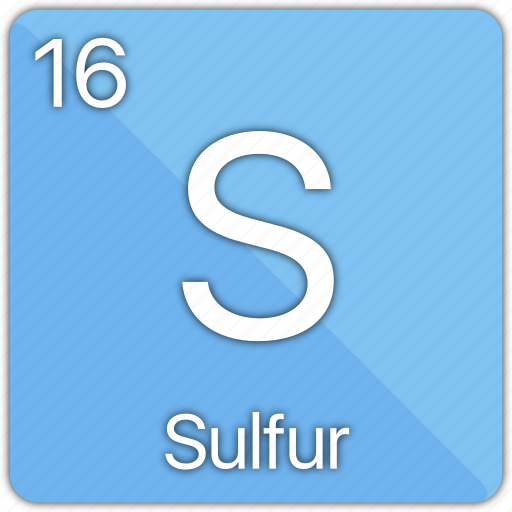Atom atomic element non metal periodic table sulfur icon atom atomic element non metal periodic table sulfur icon urtaz Image collections